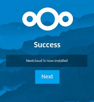 Installation de Nextcloud